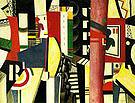 Fernand Leger The City 1919