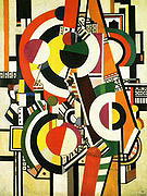 Fernand Leger The Disks 1918