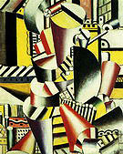 Fernand Leger The Wooden Pipe 1918