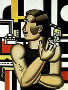 Fernand Leger The Mechanic 1920