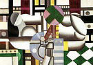 Fernand Leger Woman and Still Life 1921