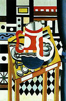 Fernand Leger Still Life with a Beer Mug c1921