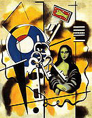 Fernand Leger Mona Lisa with Keys 1930