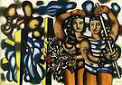 Fernand Leger Adam and Eve c1935