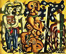 Fernand Leger Composition with two Parrots 1935