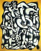 Fernand Leger The Gray Acrobats c1942