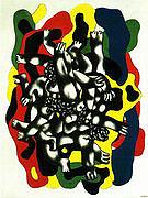 Fernand Leger The Divers c1941