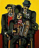 Fernand Leger Three Musicians 1944