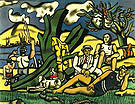 Fernand Leger The Country Outing First State c1952