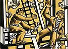 Fernand Leger Construction Workers 1951