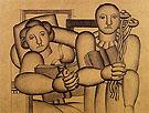 Fernand Leger Study for Reading 1923