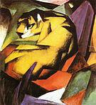 Franz Marc Tiger 1912