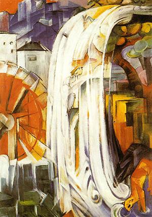 Franz Marc Enchanted Mill 1913