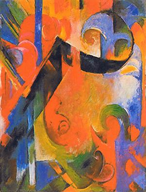 Franz Marc Broken Forms