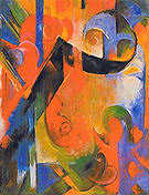 Franz Marc Broken Forms