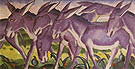 Franz Marc Donkey Frieze 1911
