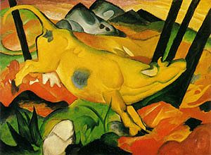 Franz Marc The Yellow Cow 1911