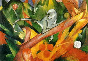 Franz Marc The Monkey 1912