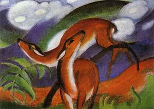 Franz Marc Red Deer II 1912