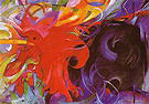 Franz Marc Fighting Forms 1914