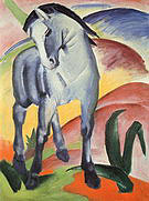 Franz Marc Blue Horse I 1911