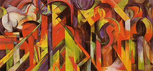 Franz Marc Stables 1913