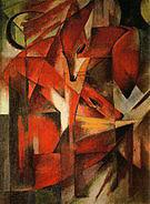 Franz Marc Foxes 1913