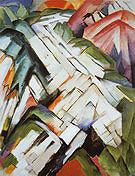 Franz Marc The Stony Path 1911