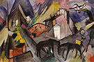 Franz Marc The Poor Country of Tyrol 1913