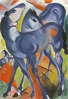 Franz Marc Blue Foals 1913