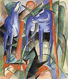 Franz Marc The Creation of the Horses 1913