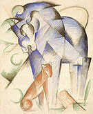 Franz Marc Horse and Dog1913