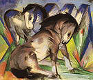 Franz Marc Two Horses 1913