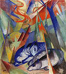 Franz Marc Sleeping Animals 1913
