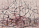 Piet Mondrian Tree In Blossom 1912