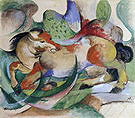 Franz Marc Leaping Horse 1913