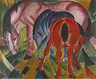 Franz Marc Mare with Foals 1912