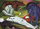 Franz Marc The Shepherds 1912