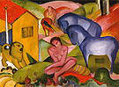 Franz Marc The Dream 1912
