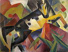 Franz Marc Leaping Horse 1912