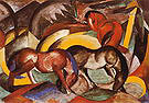 Franz Marc Three Horses 1912