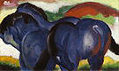 Franz Marc Small Blue Horses 1911