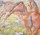 Franz Marc Mare with a Foal 1909