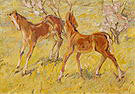 Franz Marc Foals at Pasture 1909