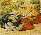 Franz Marc Cats on a Red Cloth 1909-10