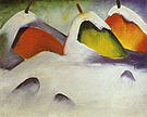 Franz Marc Stacks in the Snow 1911
