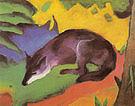 Franz Marc Blue-Black Fox 1911