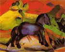 Franz Marc The Little Blue Horse 1912