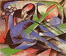 Franz Marc Dreaming Horse 1913
