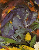 Franz Marc Wild Pigs, Boar and Sow 1913